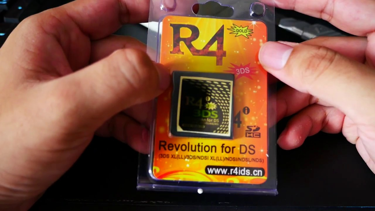 R4i Gold Nintendo Card