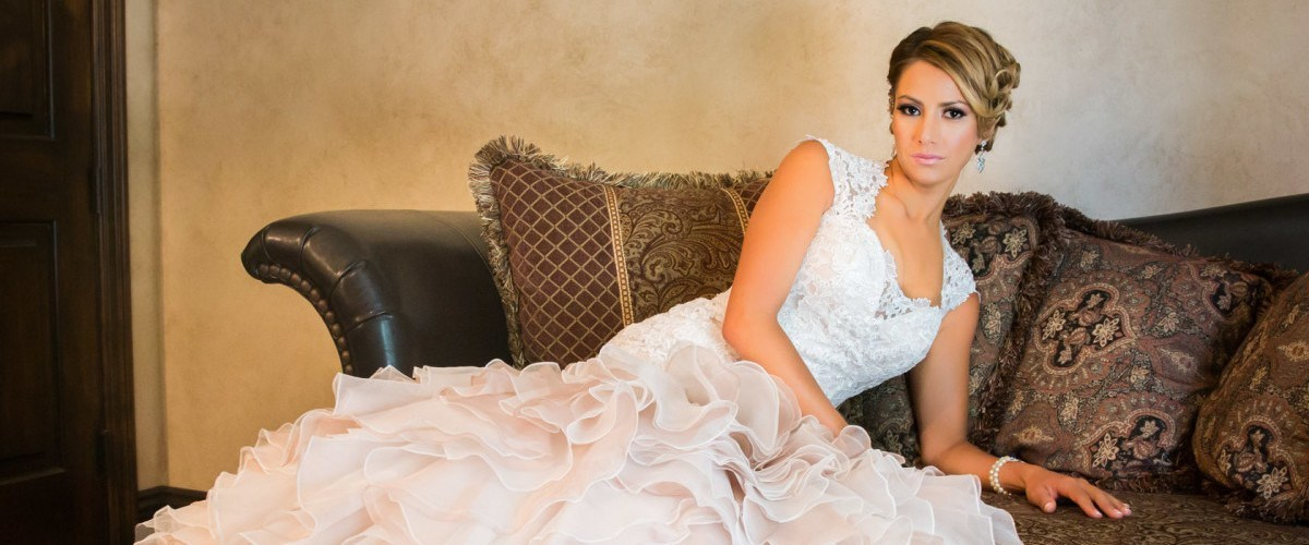 Inland Empire bridal hair